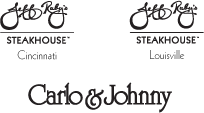 Jeff Ruby's Steakhouse - Cincinnati & Louisville, Carlo and Johnny